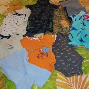 Bundle of infant clothes BOYS 0-12 mos